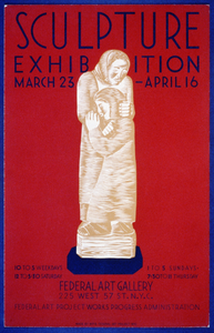 Sculpture Exhibition - March 23-april 16 - Federal Art Gallery Image