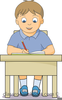 Writing Letter Clipart Image
