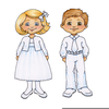 When I Am Baptized Clipart Image