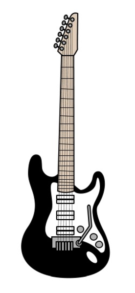 cartoon guitar free images at vector clip art online royalty free public domain. Black Bedroom Furniture Sets. Home Design Ideas