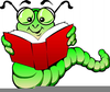 Clipart Of Bookworm Image