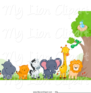 Cartoon Zoo Animal Clipart Free Free Images At Clker Com Vector Clip Art Online Royalty Free Public Domain