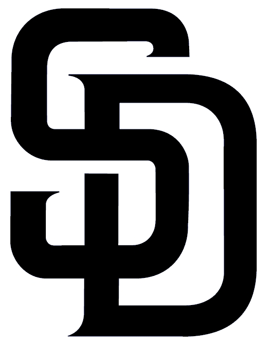 San Diego Padres Logo Free Images At Clker Com Vector