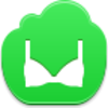 Free Green Cloud Bra Image
