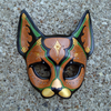 Cat Leather Mask By Merimask Image