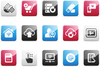 Modern Communication Icons Image