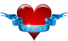Heart And Ribbon Clip Art
