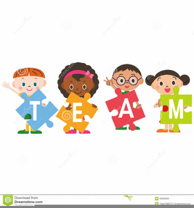 clipart children working together free images at clker com rh clker com group working together clipart working together clipart black and white