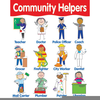 Preschool Helper Chart Clipart Image