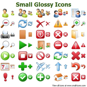 Small Glossy Icons Image