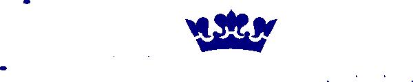 Blue Crown Clip Art