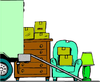 Moving Truck Clipart Free Image