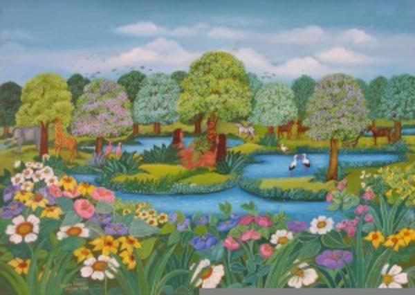 lds clipart garden  eden  images  clkercom