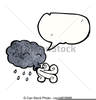 Blowing Cloud Clipart Image