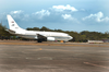 A C-40a Clipper Assigned To The  Sunseekers  Of Fleet Logistics Support Squadron Five Eight (vr-58) Arrives At The Puerto Princesa Airport, Image