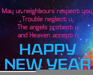 religious happy new year clipart free image