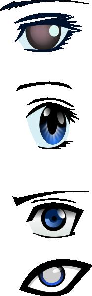 anime eyes clipart - photo #16