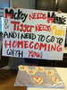 Homecoming Proposal Posters Image