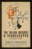The Tailor Becomes A Storekeeper  A Grotesque Comedy By David Pinski : Daly S Theatre. Image