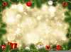 Free Background Christmas Clipart Image