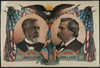 For President, James G. Blaine. For Vice President, John A. Logan  / S.s. Frissell. Image