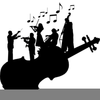Chamber Orchestra Clipart Image