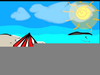 Animated Clipart Of Beach Scenes Image