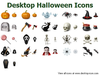 Desktop Halloween Icons Image