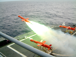 Target Drone Launches From Dd 975 Image