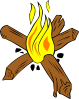 Campfires And Cooking Cranes 10 Clip Art