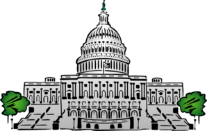 The Capital Building Clip Art