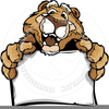 Free Cougars Clipart Image