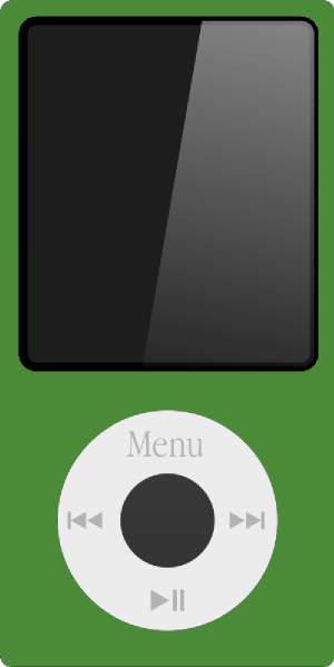 Green Ipod Nano Clip Art at Clker.com - vector clip art ...