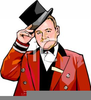Tipping Hat Clipart Image
