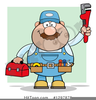 Male Plumber Clipart Image