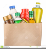 Groceries Clipart Image
