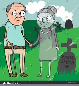 Elderly People Clipart Image