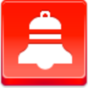 Free Red Button Icons Christmas Bell Image