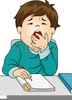 Clipart Yawn Image
