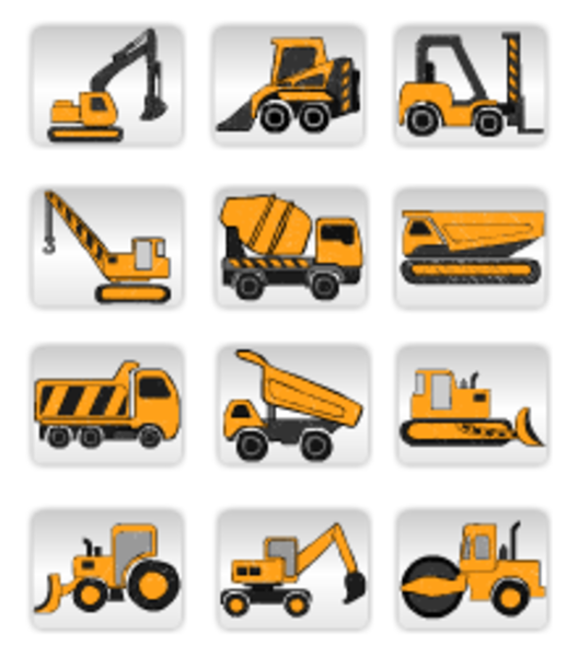 Construction Equipment Free Images At Clker Com Vector