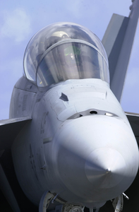 An F/a-18f Super Hornet Attached To The  Image