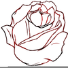 Flower Clipart Outline Image