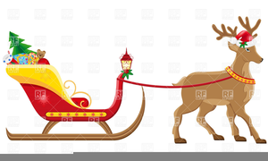 Sleigh Free Clipart Image