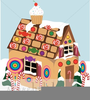Free Clipart Candy Cottage Image