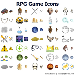 Rpg Game Icons Image