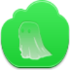 Free Green Cloud Ghost Image