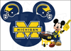 Michigan Wolverines Clipart Image
