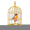 Bird Cage Clipart Image