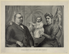President Cleveland And Family Image