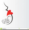 Silhouette Of A Pregnant Woman Clipart Image